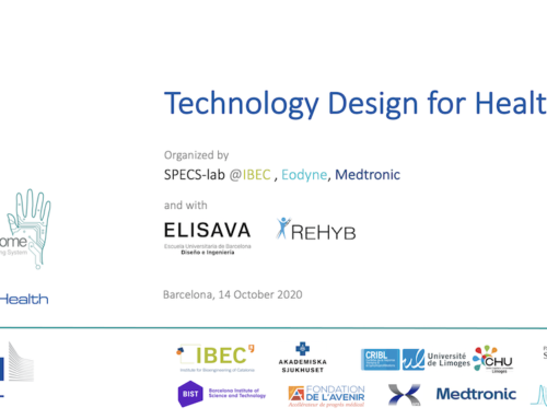 Technology Design for Health: a workshop with SPECS-lab and ELISAVA
